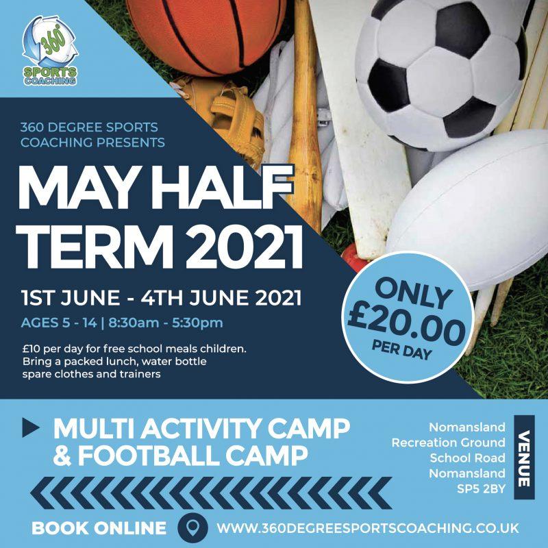 May Half Term 2021 - Nomansland - SQAURE DIGITAL