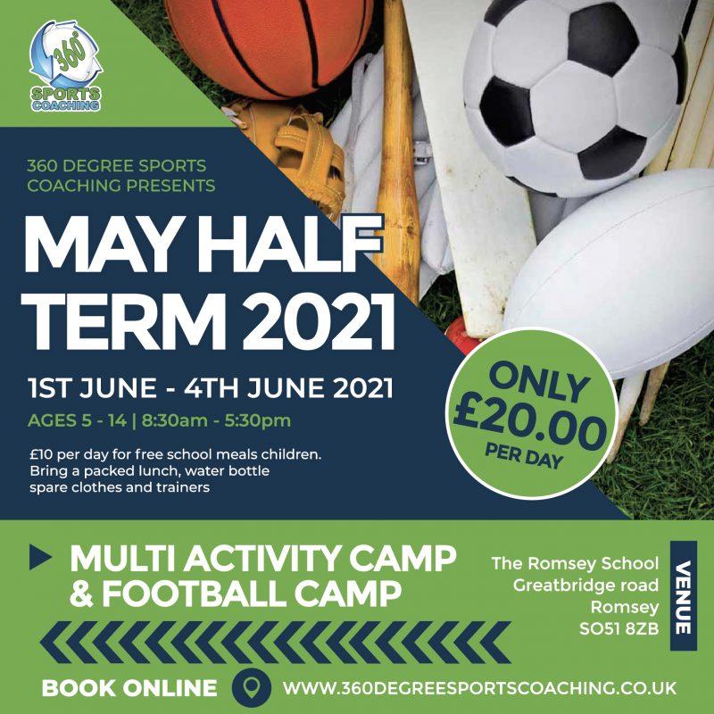 May Halfterm 2021 - Romsey - SQAURE DIGITAL